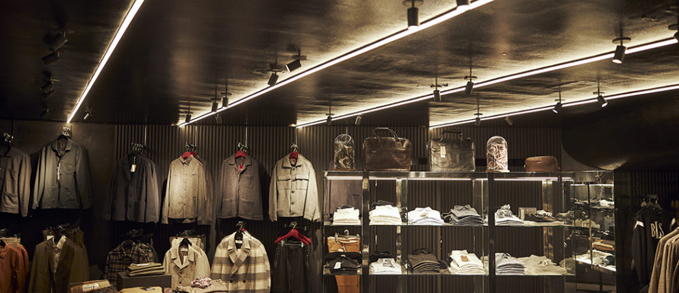 Showroom til detail og tøjbutik