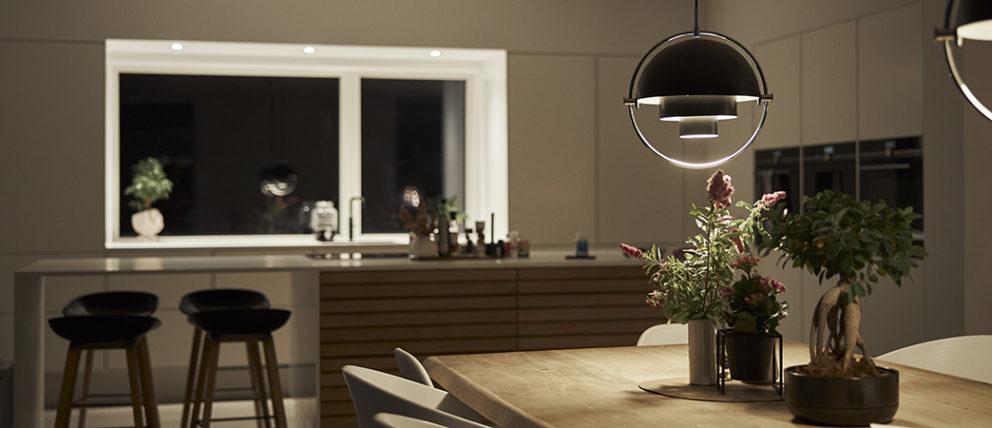 Belysning i køkken al-rum